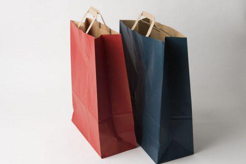 shopper carta colorate