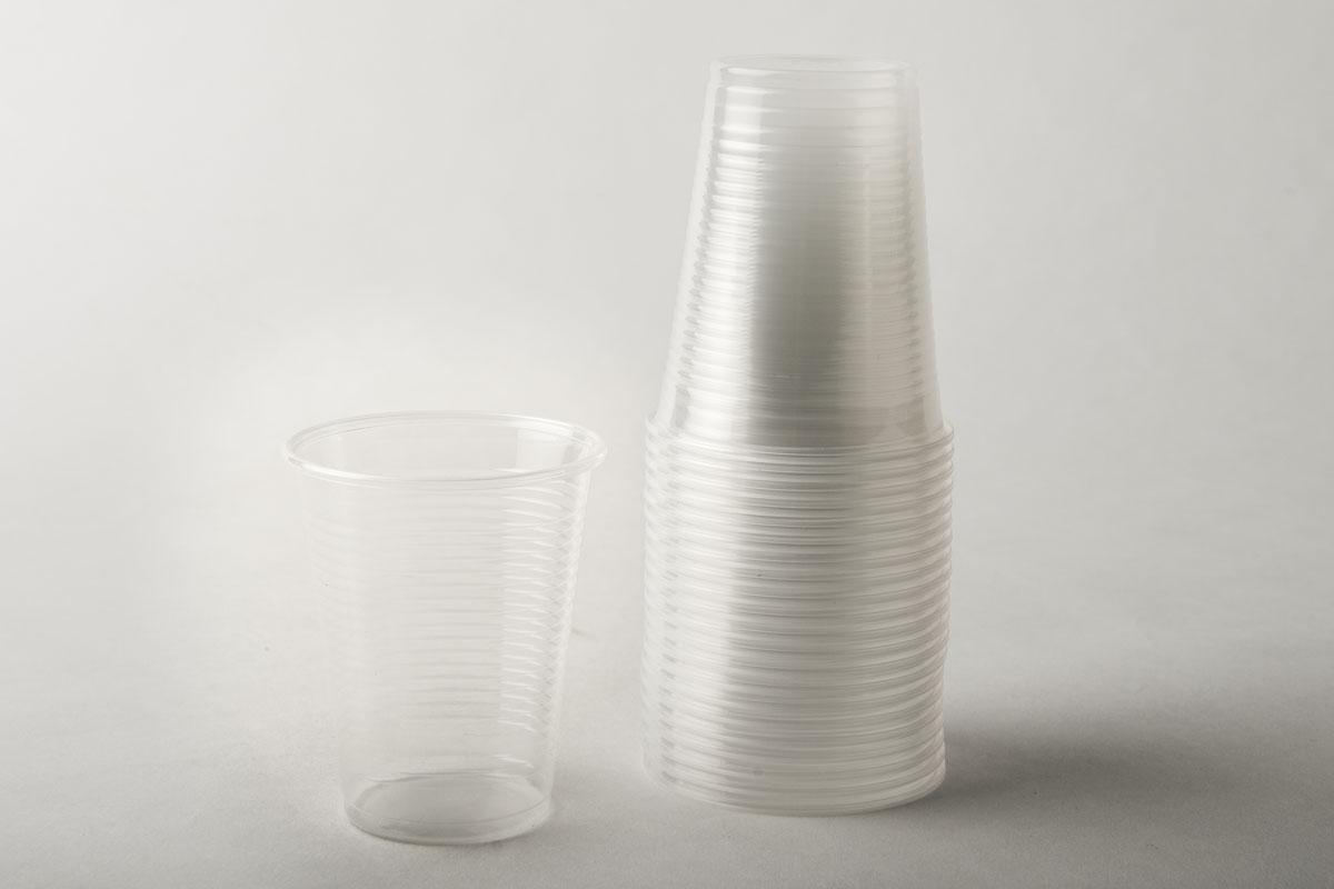 Bicchieri PLP bianchi 200cc