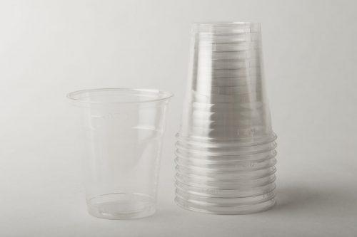 Bicchieri trasparenti PET KLE