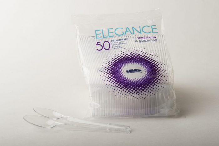 Cucchiaini PLT trasparenti