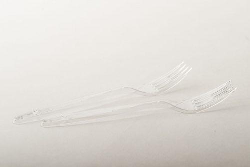 Forchette PLT trasparenti