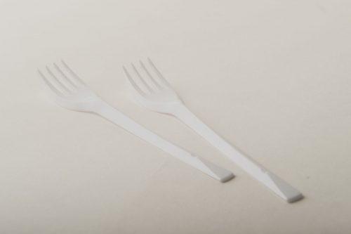 Forchette PLT bianche