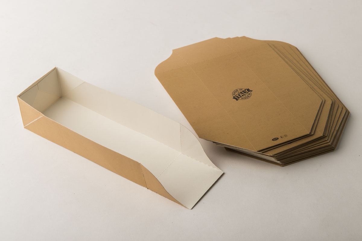 porta panino in cartoncino