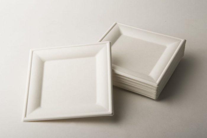 piatti quadrati pola cellulosa