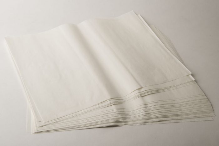 carta kraft bianca